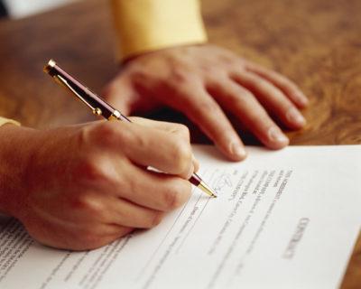 Договор на планировку земельного участка