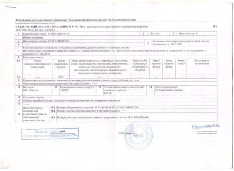 Изображение - Порядок расчета кадастровой стоимость квартиры Kadastrovyy_pasport_1_03132144-750x547