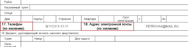 Особенности анкеты на получение загранпаспорта для ребенка старше 14 лет и образец ее заполнения
