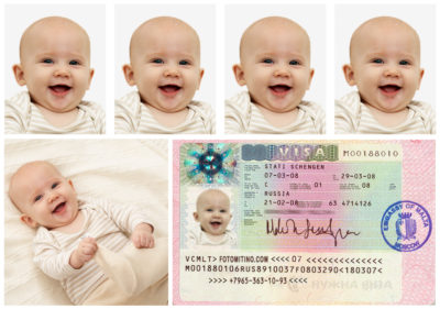 Требования к фото для загранпаспорта ребёнка